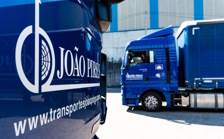 Transportes Joâo Pires confía en el servicio Effitrailer de Michelin