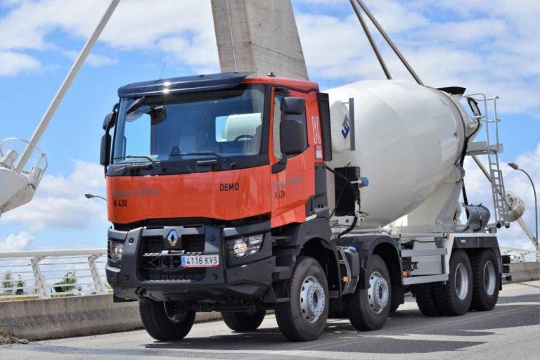 El Renault Trucks K hormigonera de disponiblidad inmediata