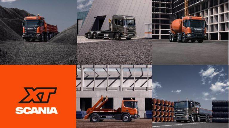 La gama XT de construcción de Scania con entrega inmediata