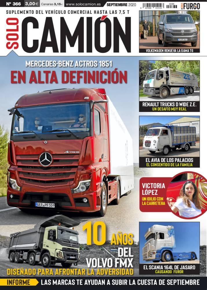 Revista Solo Camión 366 Septiembre 2020