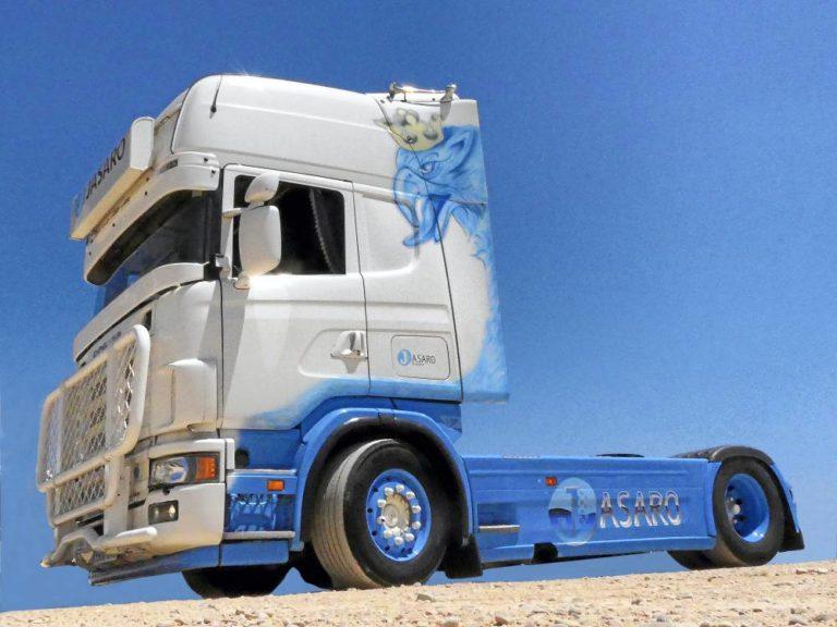 El Scania 164L de Transportes Jasaro, pasión que nace del recuerdo