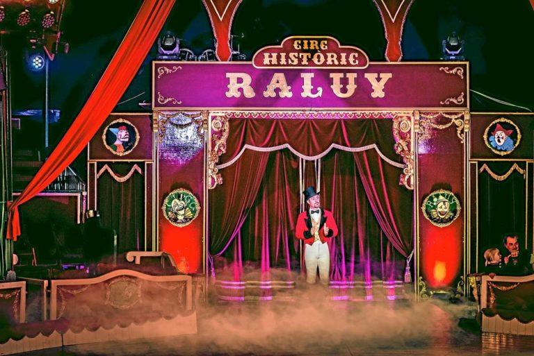 El circo histórico Raluy, el que sueña un niño