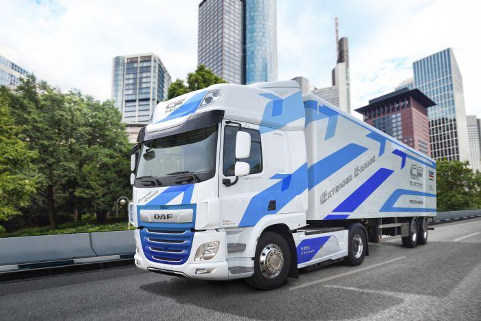DAF presenta el CF Electric con autonomía ampliada