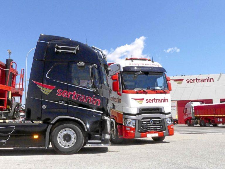 Grupo logístico Sertranin, entusiasmo en movimiento