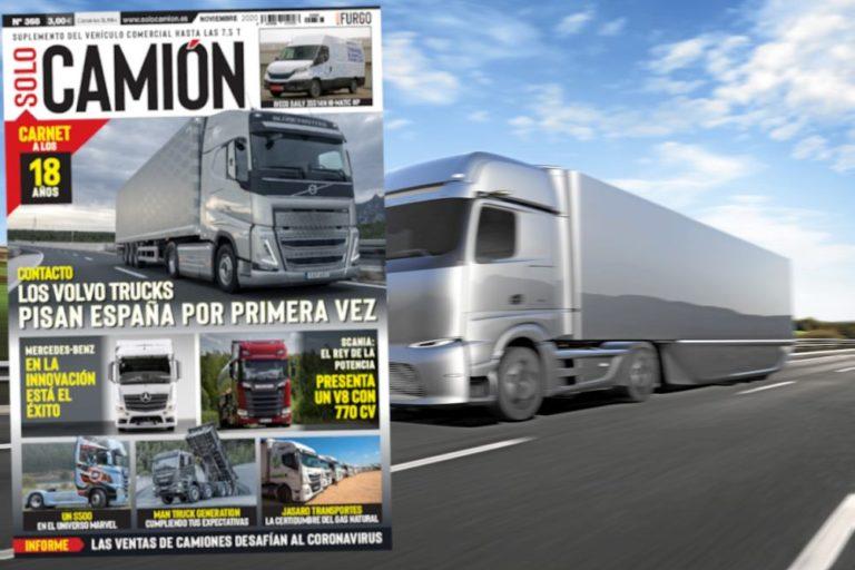 Venta Solo Camión 368 Noviembre 2020