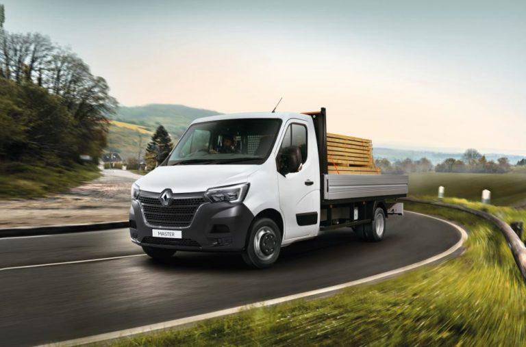 Renault Master carga lateral