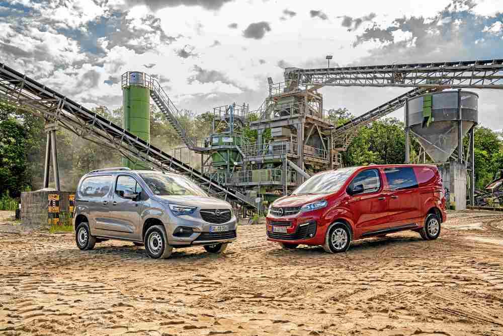 Opel Combo y Vivaro 4x4