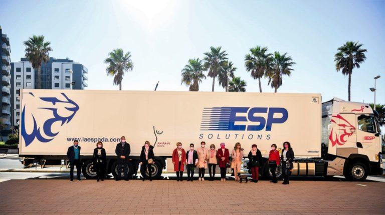 ESP Solutions mostrará la labor de AMAMA al volante de un Renault Trucks T