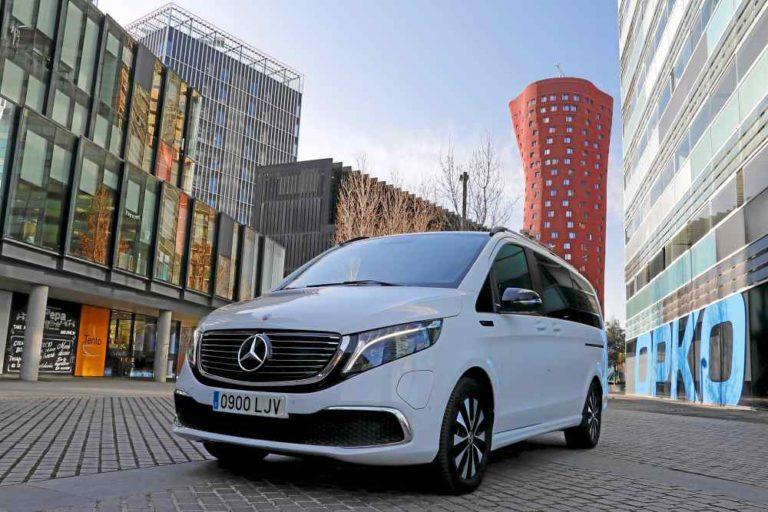 Mercedes-Benz EQV300, 100% eléctrico: en otro nivel