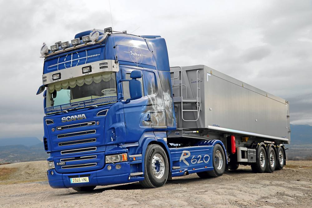 Scania R620 V8 Sebas