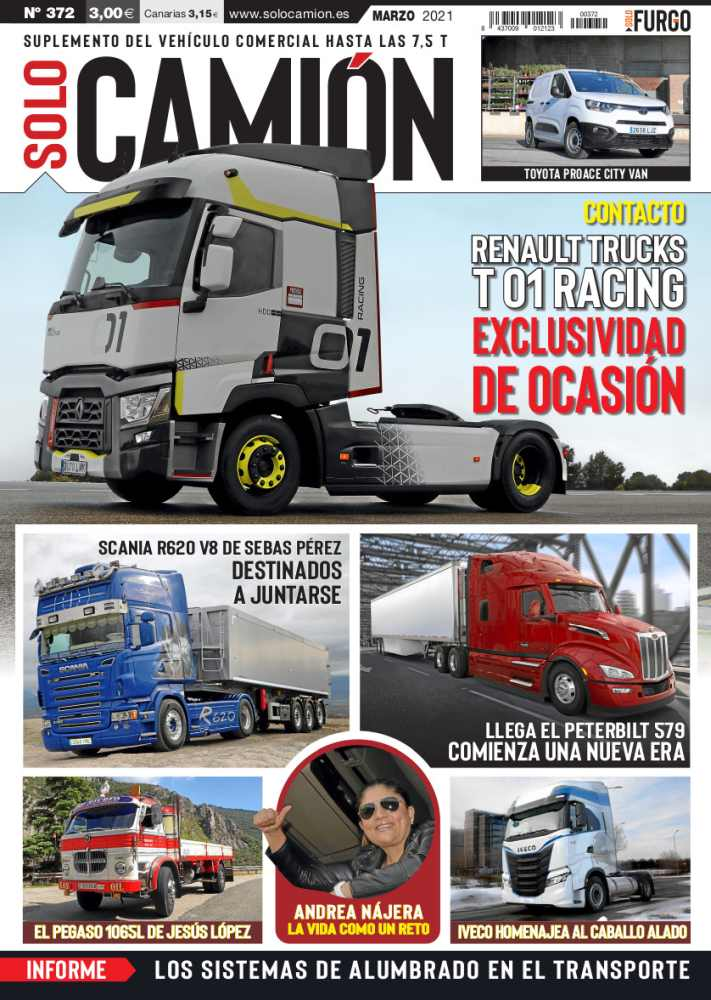 Revista Solo Camión 372 marzo 2021