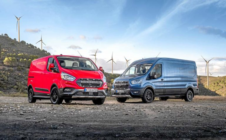 Ford Transit Trail y Transit Custom Trail, no hay límites