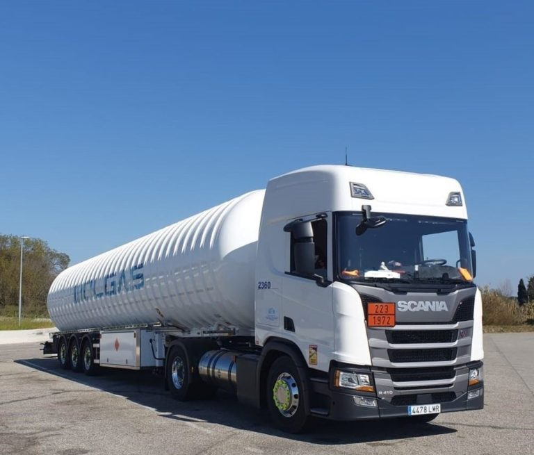 Scania GNL Molgás Energía