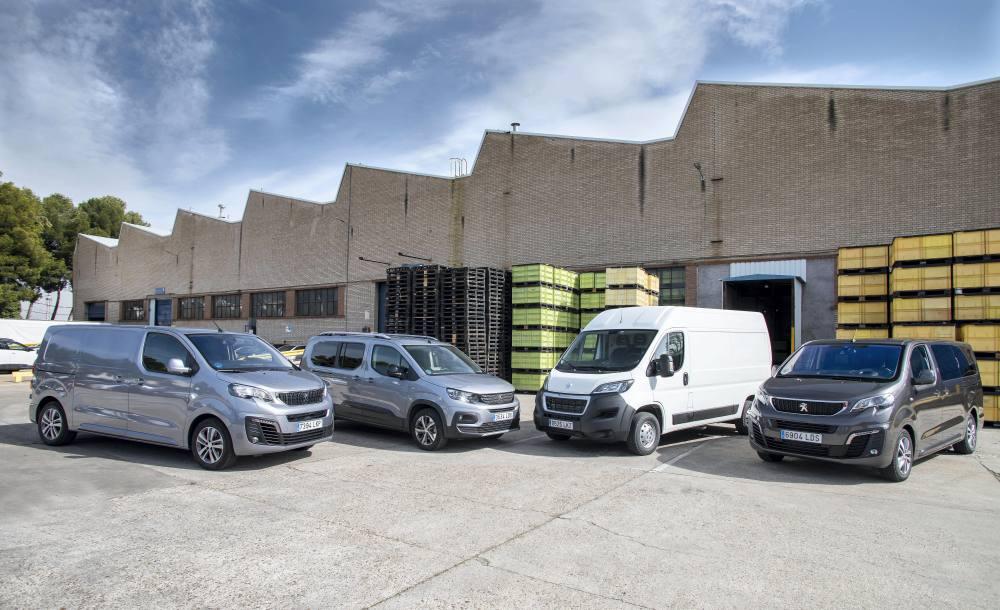 Peugeot gama eléctricos