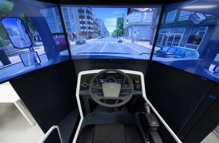 Girteka estrena su primer centro de simulación para conductores
