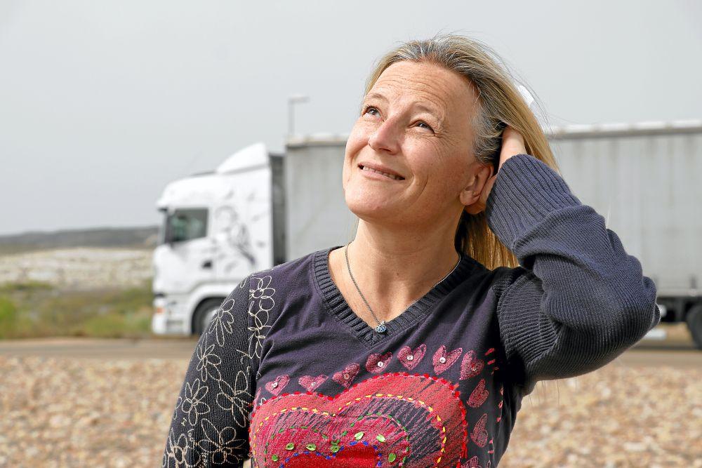 Soy camionera Verónica Peláez