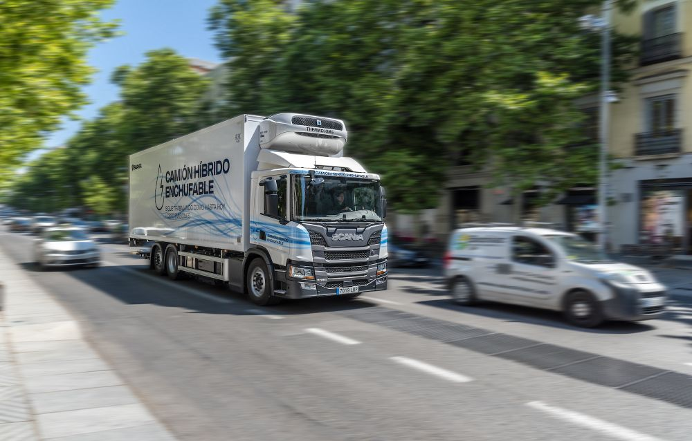 Scania Híbrido enchufable Acotral