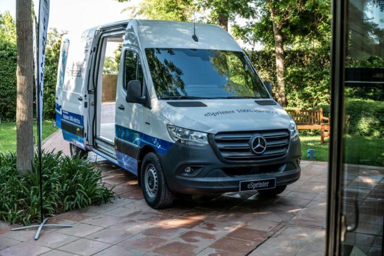 Autolica Industriales eVans Mercedes-Benz